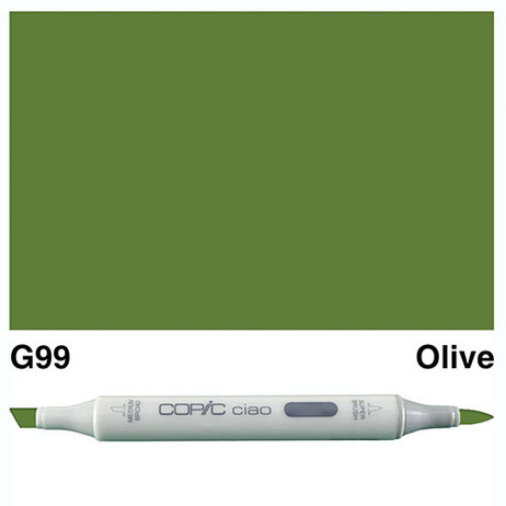 Copic Ciao Markers G99 - Olive
