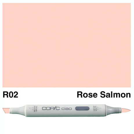 Copic Ciao Markers R02 - Rose Salmon