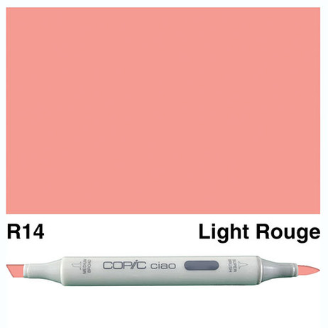 Copic Ciao Markers R14 - Light Rouge