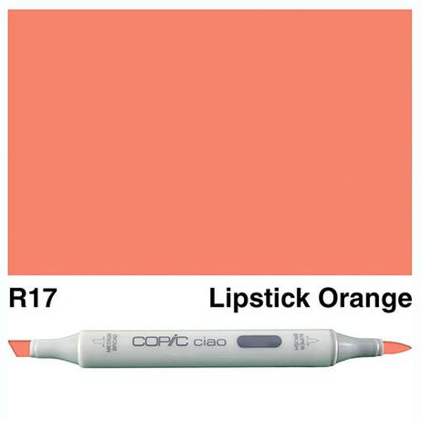 Copic Ciao Markers R17 - Lipstick Orange