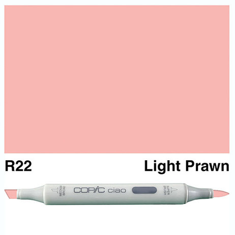 Copic Ciao Markers R22 - Light Prawn