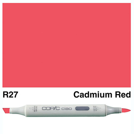 Copic Ciao Markers R27 - Cadmium Red