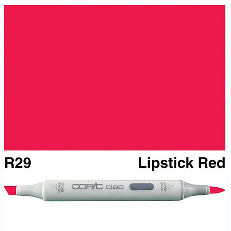 Copic Ciao Markers R29 - Lipstick Red