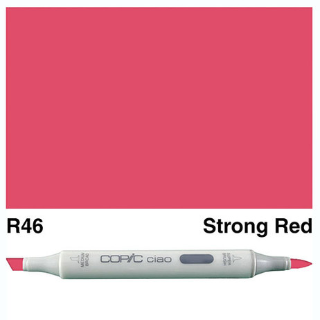 Copic Ciao Markers R46 - Stong Red