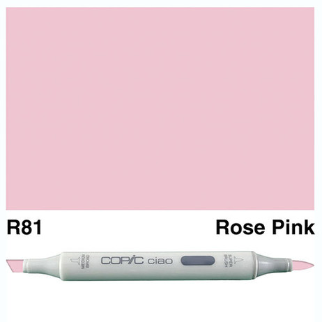 Copic Ciao Markers R81 - Rose Pink