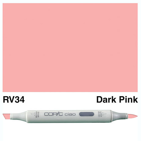 Copic Ciao Markers RV34 - Dark Pink