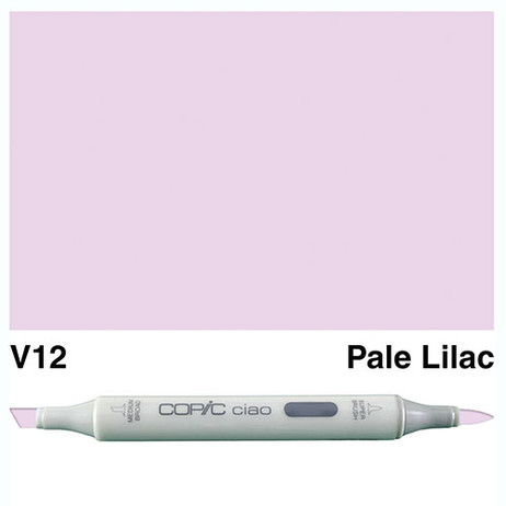 Copic Ciao Markers V12 - Pale Lilac