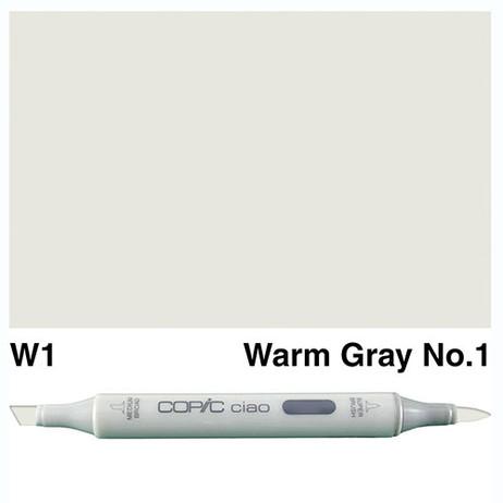 Copic Ciao Markers W1 - Warm Grey No. 1