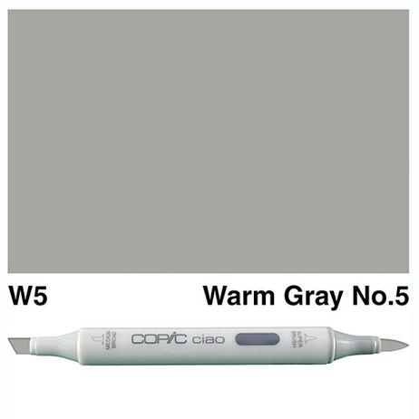 Copic Ciao Markers W5 - Warm Grey No. 5
