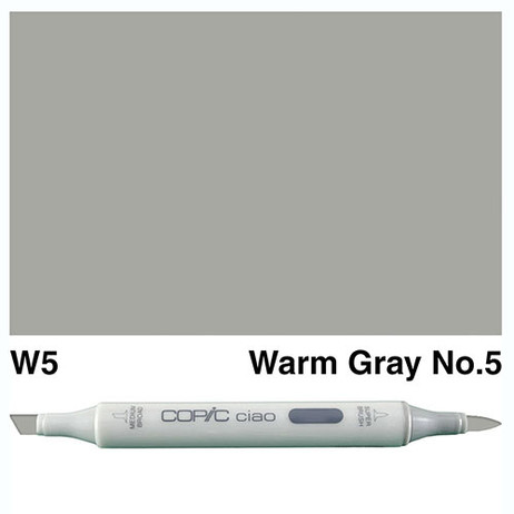 Copic Ciao Markers W5 - Warm Grey No. 5