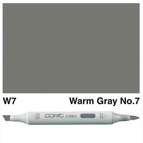 Copic Ciao Markers W7 - Warm Grey No. 7