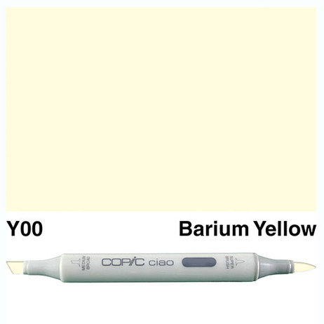 Copic Ciao Markers Y00 - Barium Yellow