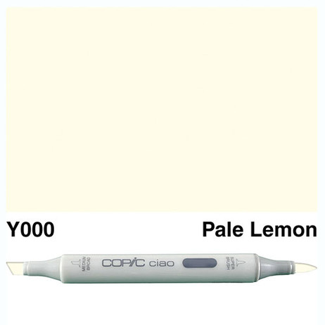 Copic Ciao Markers Y000 - Pale Lemon