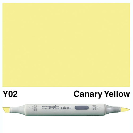 Copic Ciao Markers Y02 - Canary Yellow