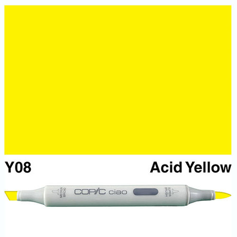 Copic Ciao Markers Y08 - Acid Yellow