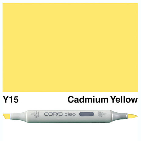 Copic Ciao Markers Y15 - Cadmium Yellow