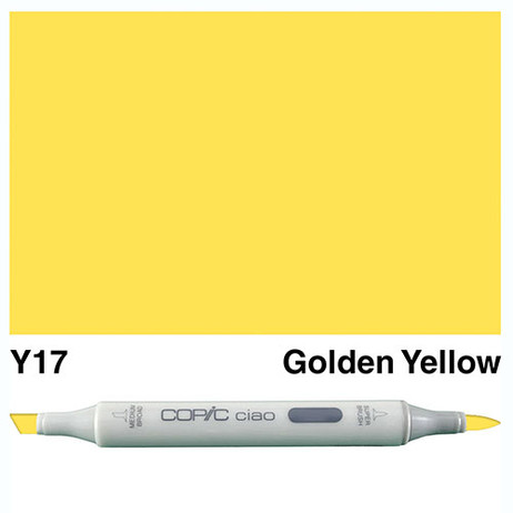 Copic Ciao Markers Y17 - Golden Yellow
