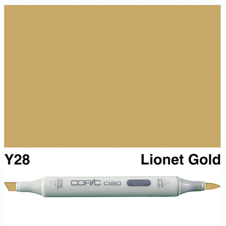 Copic Ciao Markers Y28 - Lionet Gold