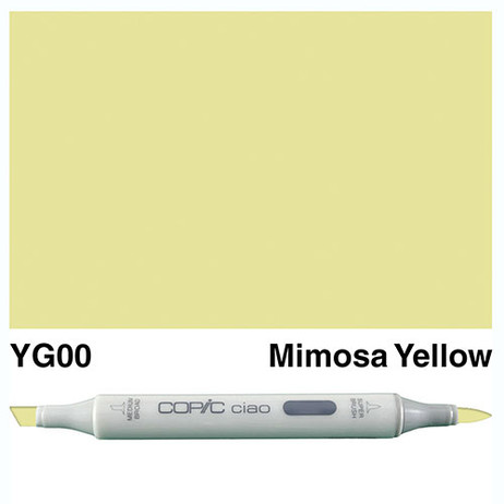 Copic Ciao Markers YG00 - Mimosa Yellow