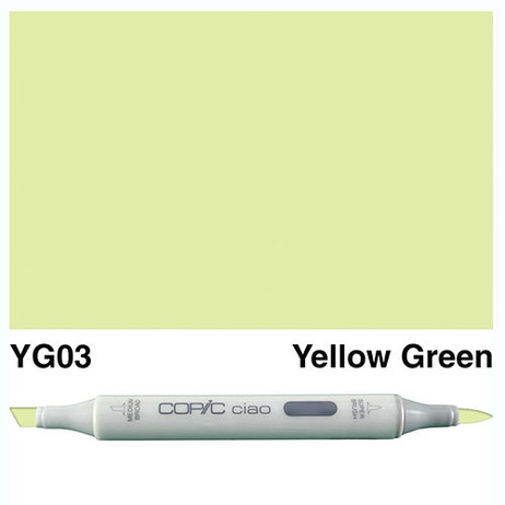 Copic Ciao Markers YG03 - Yellow Green