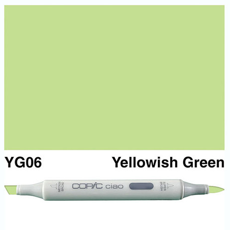 Copic Ciao Markers YG06 - Yellowish Green
