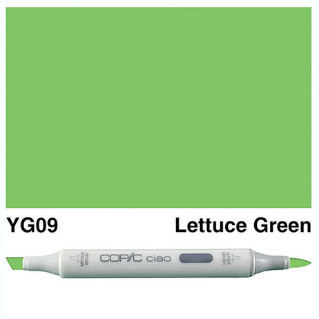 Copic Ciao Markers YG09 - Lettuce Green