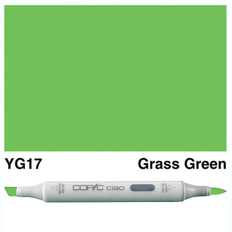 Copic Ciao Markers YG17 - Grass Green