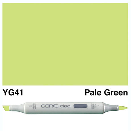 Copic Ciao Markers YG41 - Pale Cobalt Green