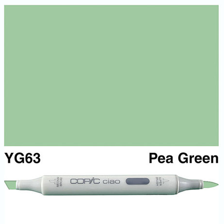 Copic Ciao Markers YG63 - Pea Green