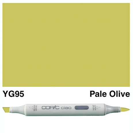 Copic Ciao Markers YG95 - Pale Olive
