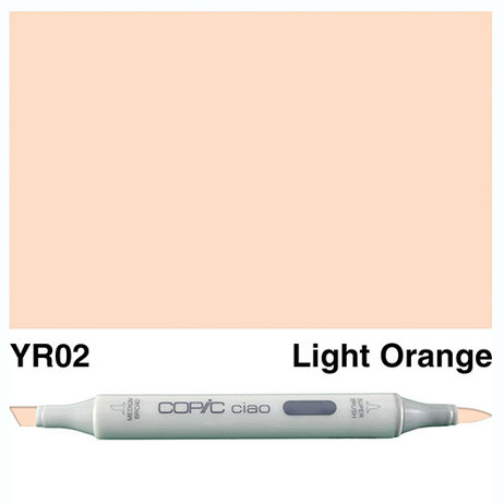 Copic Ciao Markers YR02 - Light Orange