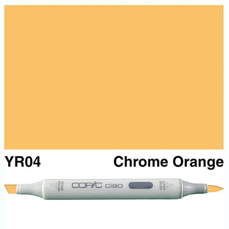 Copic Ciao Markers YR04 - Chrome Orange