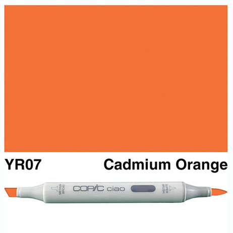 Copic Ciao Markers YR07 - Cadmium Orange