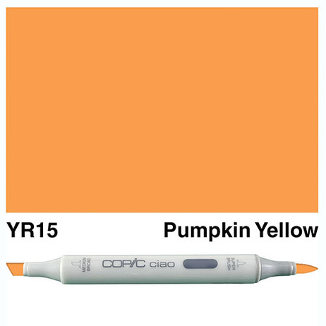Copic Ciao Markers YR15 - Pumpkin Yellow