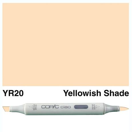 Copic Ciao Markers YR20 - Yellowish Shade
