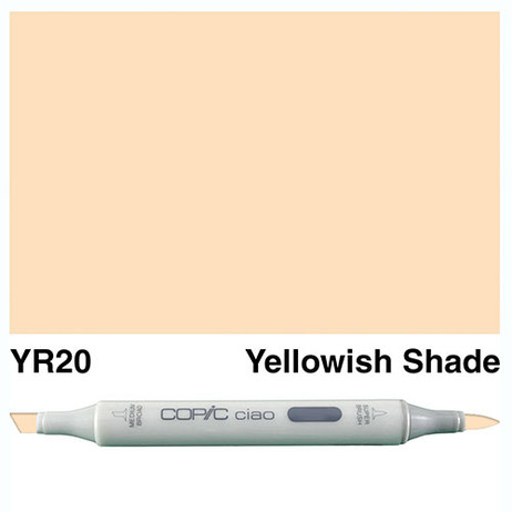 Copic Ciao Markers YR20 - Yellowish Shade