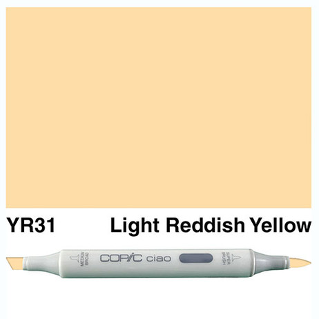 Copic Ciao Markers YR31 - Light Reddish Yellow
