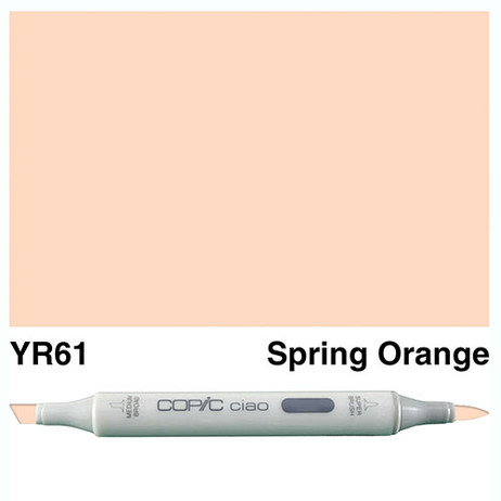 Copic Ciao Markers YR61 - Spring Orange