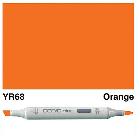 Copic Ciao Markers YR68 - Orange