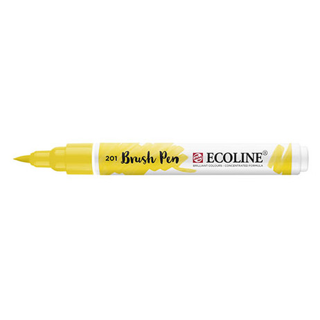 Ecoline Brush Pen 201 Light Yellow