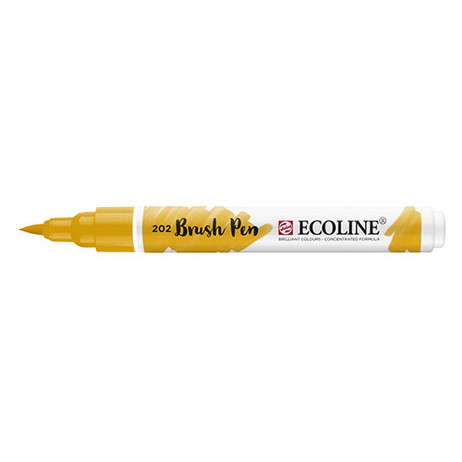 Ecoline Brush Pen 202 Deep Yellow