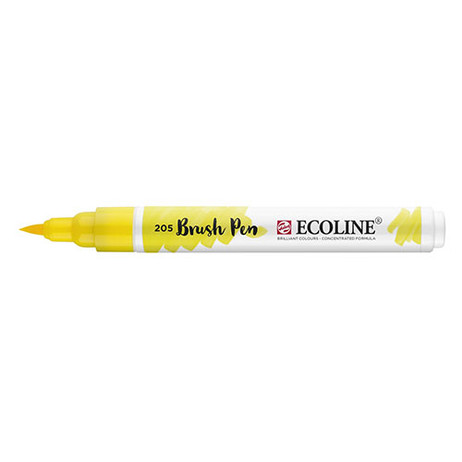 Ecoline Brush Pen 205 Lemon Yellow