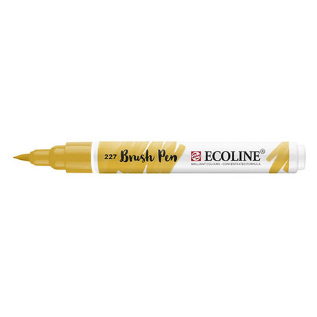 Ecoline Brush Pen 227 Yellow Ochre