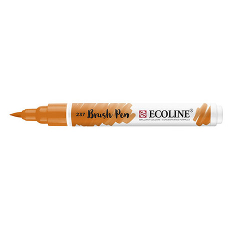 Ecoline Brush Pen 237 Deep Orange