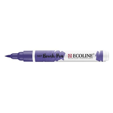 Ecoline Brush Pen 507 Ultramarine Violet