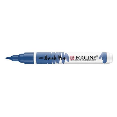 Ecoline Brush Pen 508 Prussian Blue