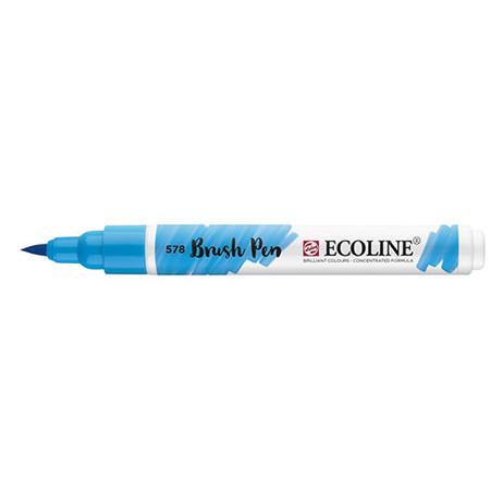 Ecoline Brush Pen 578 Sky Blue Cyan