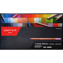 Pastel Pencils - Assortment of 76 Colours + 1 Grafwood + 1 Charcoal | 788.376
