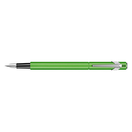849 Fountain Pen Metal Yellow Green Fluo - M | 840.230