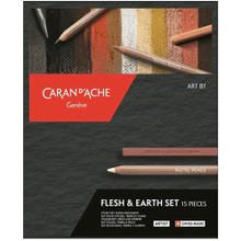 Art by Caran D'Ache Flesh and Earth Set | 776.615